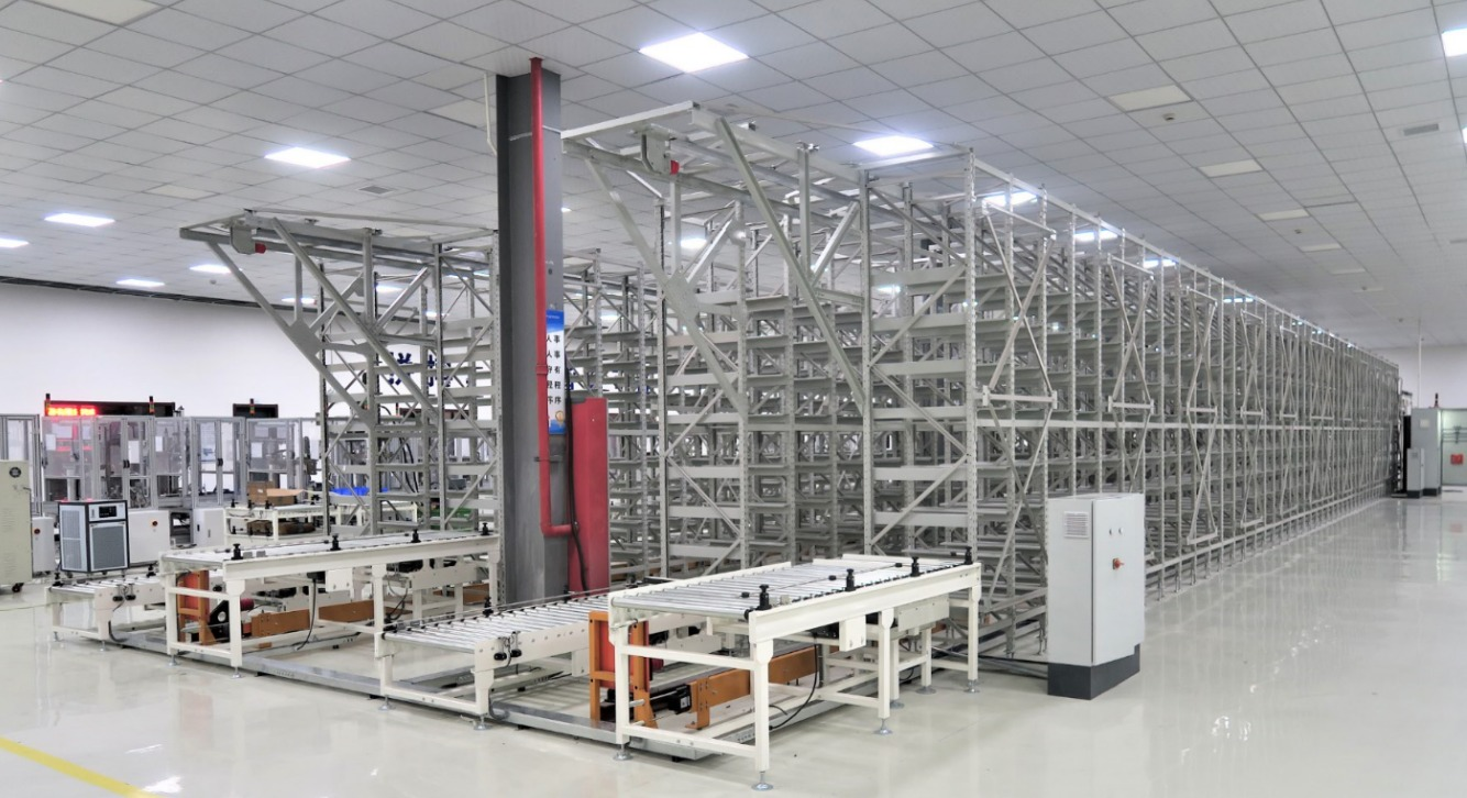自动化立体仓库图片